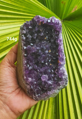 Amethyst Deep Purple cluster 744g