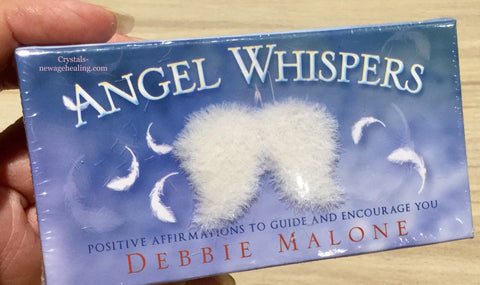 Oracle cards- Angel Whispers by Debbie Malone