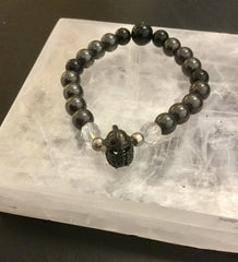 Bracelet- Black Tourmaline Protection, Grounding & Courage * more suitable for man
