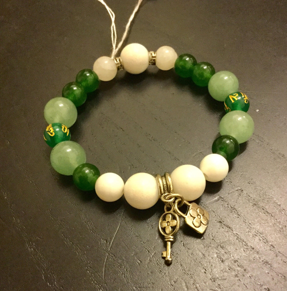 Bracelet Protection Healing Key To Good Health Luck Qi New