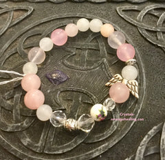 Bracelet Angels Blessings, Self Love & Calming