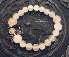 Bracelet - Selenite Angels of Love