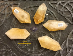 Citrine double terminated estimated 20gm; 40~50mm