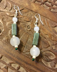 Earrings- Jade of Good Health