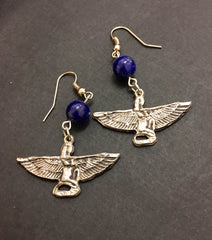 Earrings - Isis Lapis Lazuli