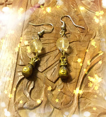 Earrings - Citrine Abundance $$$