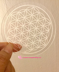 Flower of Life Grid * acrylic