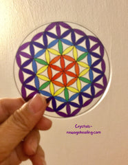 Flower of Life Grid * colored acrylic