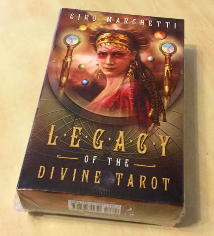 Tarot- Legacy of the Divine Tarot by digital artist Ciro Marchetti