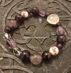 Bracelet - Love, Intuition, Protection & Meditation