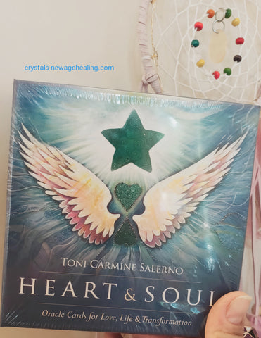 Oracle cards- Heart & Soul by Toni Carmine Salerno * NEW EDITION