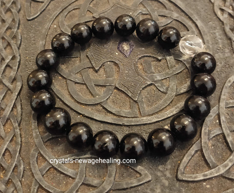 Bracelet- Black tourmaline Protection