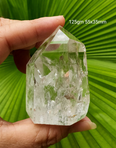 Polished  Quartz point   * Brazil