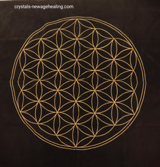 Flower of Life Tarot / Oracle Velvet Cloth