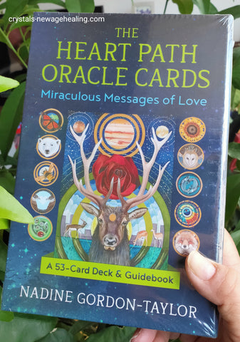 The Heart Path Oracle Cards : Miraculous Messages of Love By Nadine Gordon-Taylor