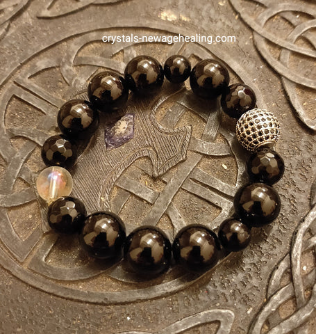 Bracelet - Black tourmaline Protection