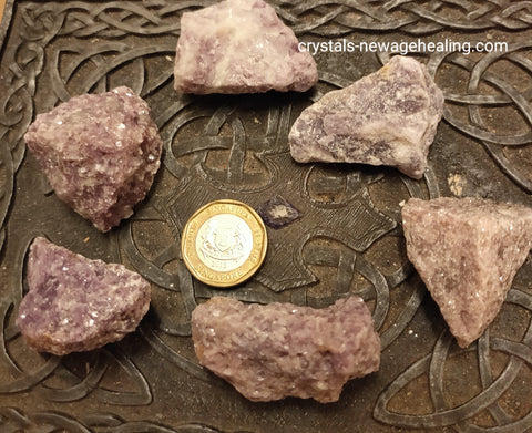 Lepidolite Crystal raw