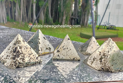Pyrite Pyramid AAA Quality