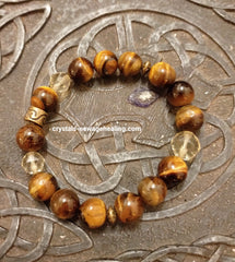 Bracelet Tiger Eye & Citrine