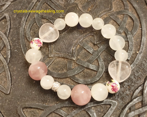 Bracelet - Selenite of Love & Healing