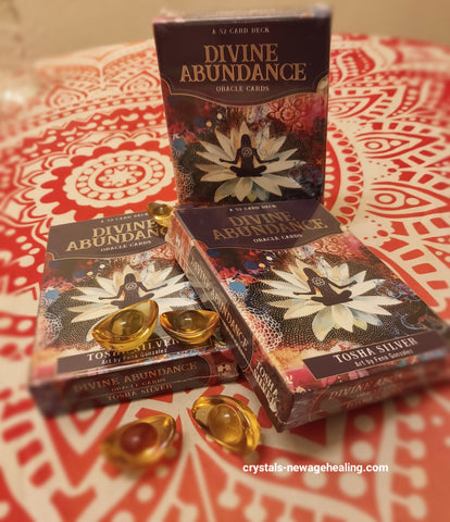 Oracle cards- Divine Abundance * NEW release
