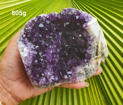 Amethyst Deep Purple cluster 805g