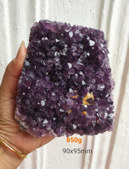 Amethyst Deep Purple cluster 850g