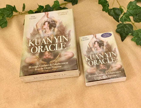 Oracle cards- Kuan Yin by Alana Fairchild