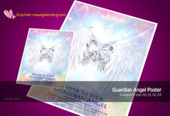 Art Print Poster- Guardian Angels