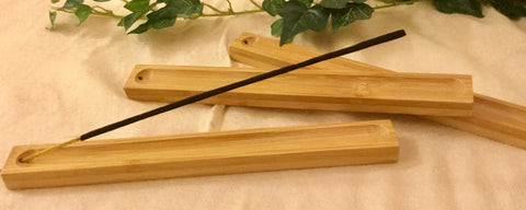 Bamboo Incense Holder *21 x 2 x 1 cm