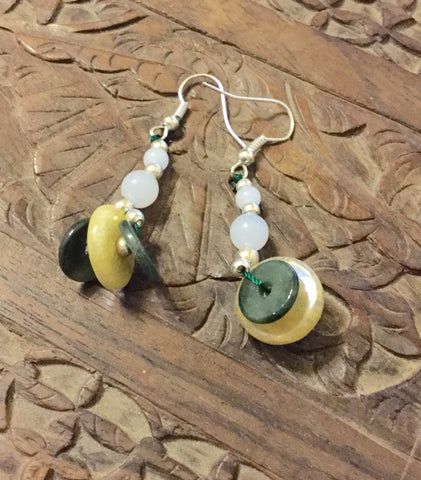 Earrings- Jade of Healing & Rejuvenation