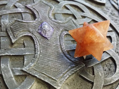 Merkaba- Orange Aventurine - (15~20mm)