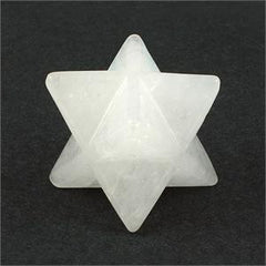 Merkaba Star- Azeztulite 18mm