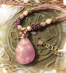 *Necklace- Africa Amethyst