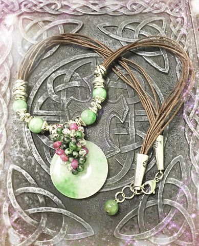 Necklace- Jade Pendant Necklace
