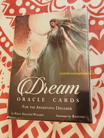 Oracle cards- Dream Oracle :  For the Awakening Dreamer by Kelly Sullivan Walden