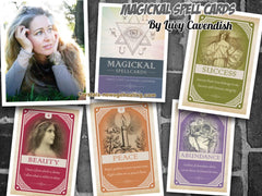 Oracle cards Magickal Spellcards by Lucy Cavendish