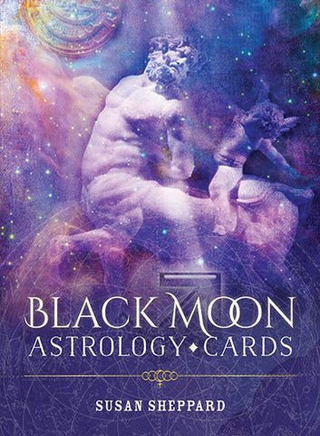 Oracle cards- Black Moon Astrology Cards by Susan Sheppard