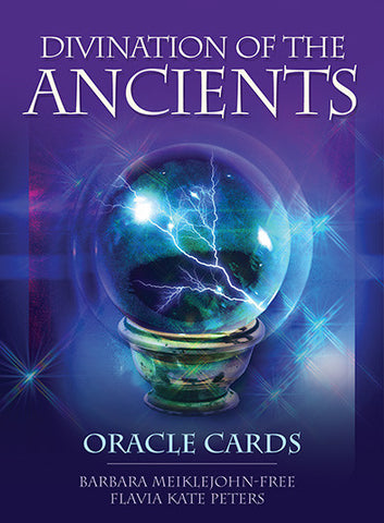 Oracle cards- Divination of the Ancients- Barbara Meiklejohn-Free & Flavia Kate Peters