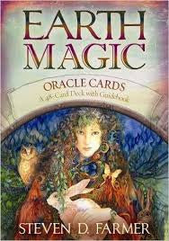 Oracle cards- Earth Magic Oracle Cards created by Steven D. Farmer