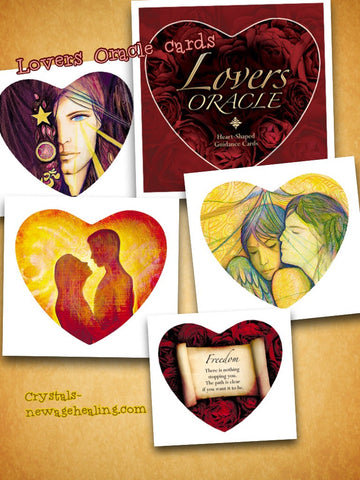 Oracle cards- Lovers by Toni Carmine Salerno