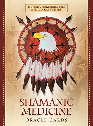Oracle cards- Shamanic Medicine by Barbara Meiklejohn-Free and Flavia Kate Peters Artwork by Yuri Leitch