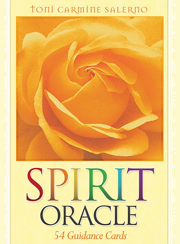 Oracle cards- Spirit Oracle by Toni Carmine Salerno