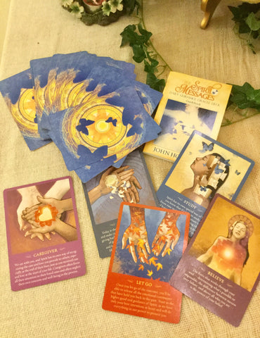 Oracle cards The Spirit Messages Daily Guidance Oracle deck  by John Holland