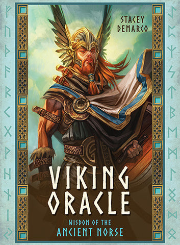 Oracle cards- Viking Oracle ( Wisdom of the Ancient Norse ) by Stacey Demarco Artwork by Jimmy Manton