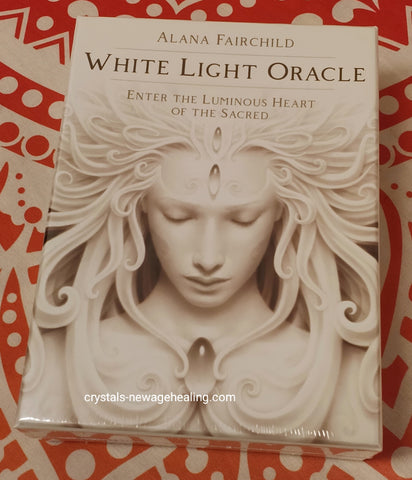 White Light Oracle cards by Alana Fairchild  Artwork by A. Andrew Gonzalez