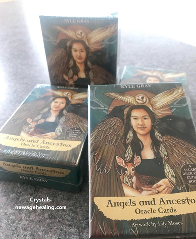 Oracle cards- Angels & Ancestors by  KYLE GRAY