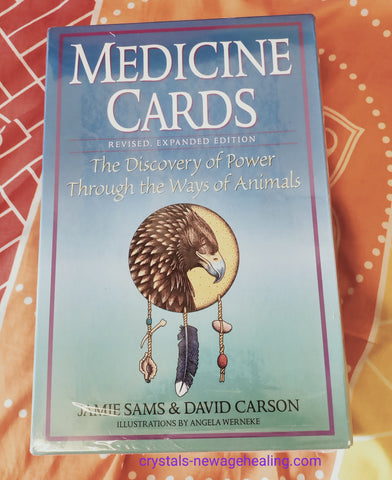 Oracle cards - Medicine Oracle cards By James Sam & David Carson