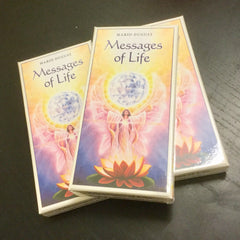 Oracle cards Messages of Life Guidance & Affirmation by Mario Duguay