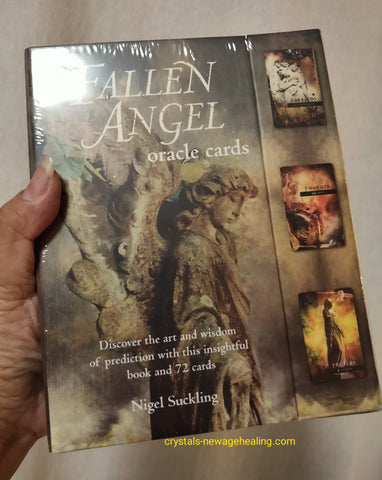 Oracle cards- Fallen Angel by Nigel Suckling